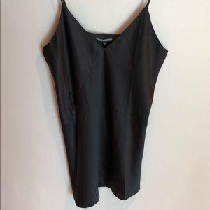 Black silk dress- Naked Wardrobe